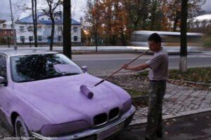 errores de pintar tu coche